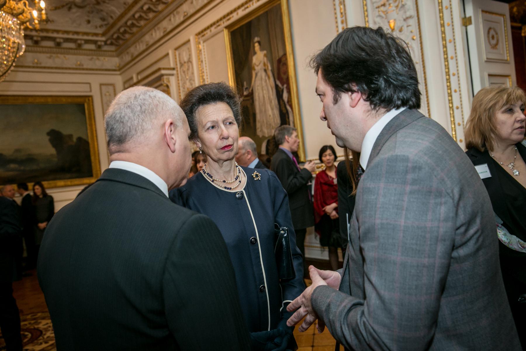 Высшие курсы иностранных языков МосИнЯз приглашены на прием к принцессе Великобритании Анне