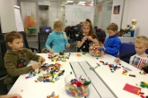 В офисе LEGO с интересом и пользой