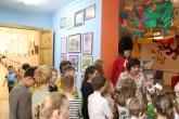 Выставка школьных шедевров